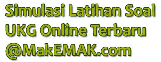 Contoh Soal UKG Teknologi Informasi dan Komputer SMK Online