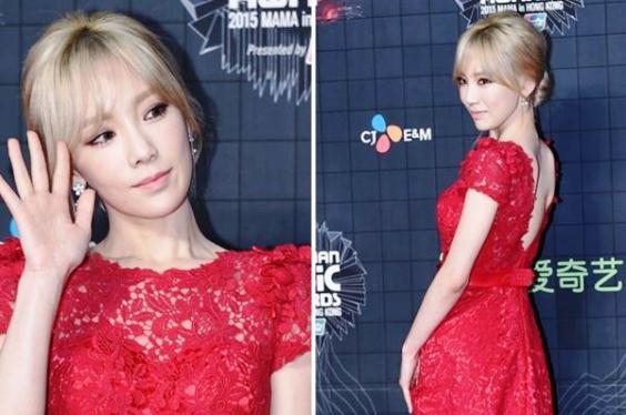 Berita Terbaru MAMA 2015: Taeyeon SNSD Kenakan Salah Satu Gaun Backless Terbaik MAMA 2015