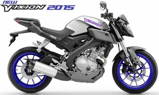 Yamaha New V-Ixion 2015