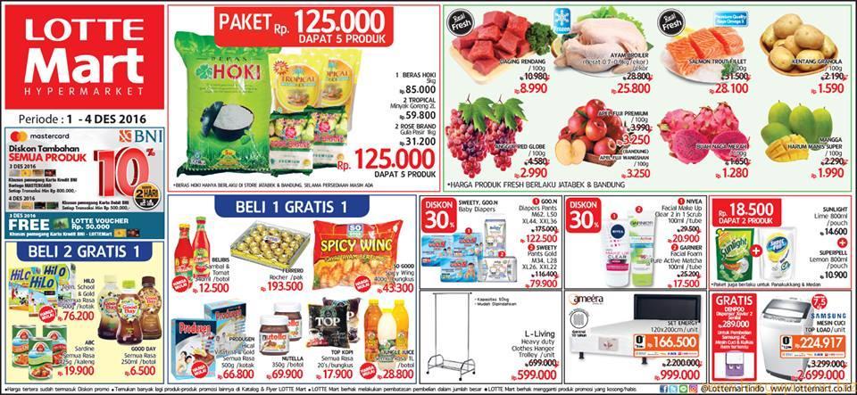 Update Katalog Harga Promo Lottemart Terbaru