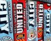 Gambar DP BBM Derby Manchester Bergerak Terbaru CITY vs MU