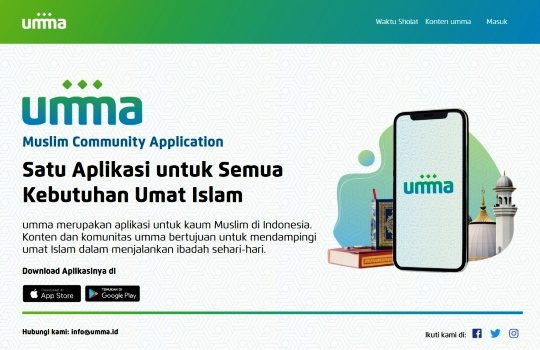 Umma.id Portal dan Aplikasi Muslim Terbaik di Indonesia