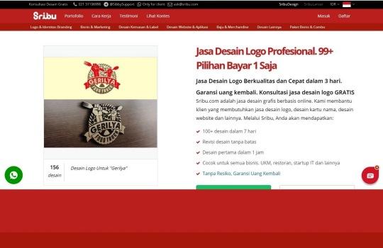 Jasa Desain Logo dan Branding Berkualitas dari Sribu.com