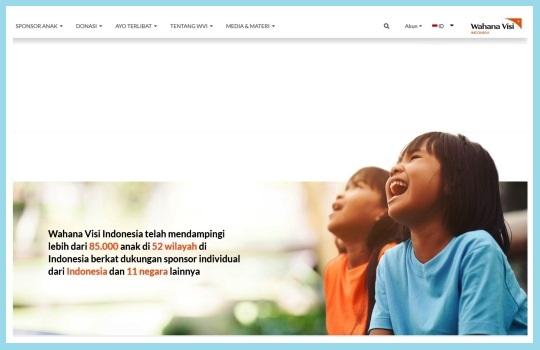 Ayo Berikan Donasi Terbaik Anda melalui Program Sponsor Anak Wahana Visi Indonesia